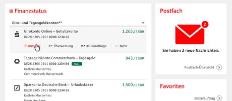 Multibanking Sparkasse Vorderpfalz